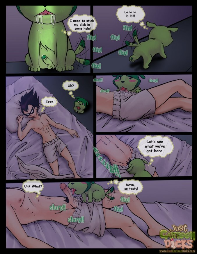 Teen Titans Comic: Sweet Dreams - teen titans04 - Yaoi Toons Archive